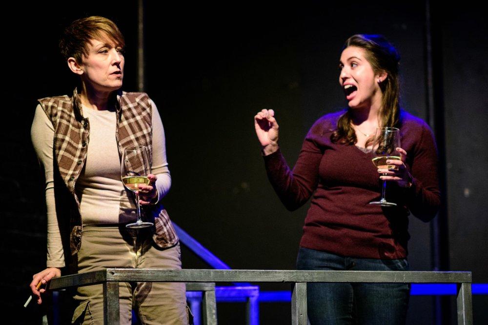 Kelli Walker (Judy) and Rose Sengenberger (Ellen). Photo by Paul Goyette.