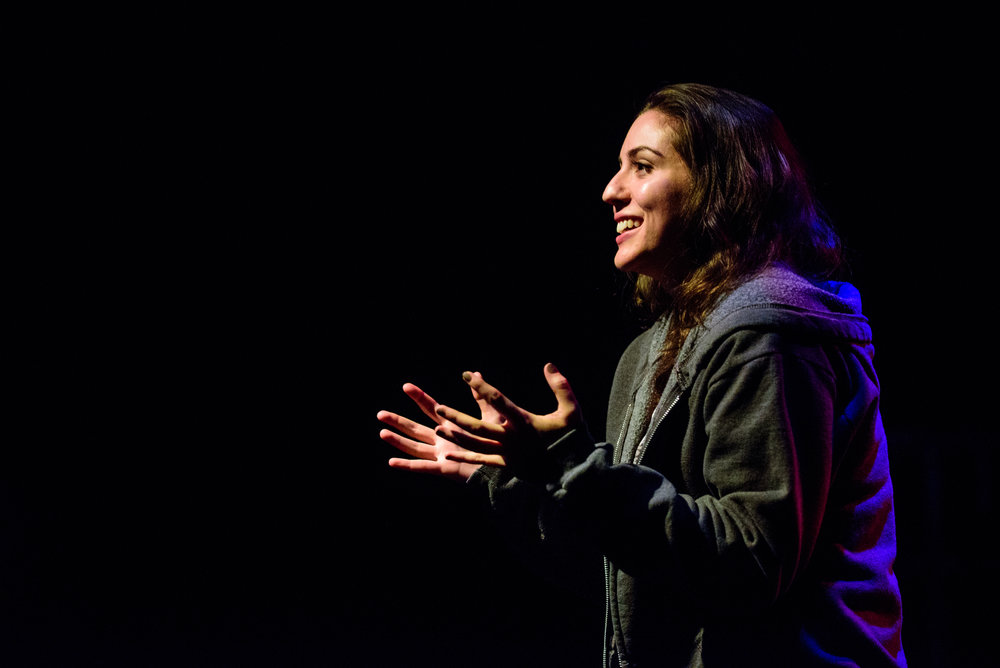Rose Sengenberger (Ellen). Photo by Paul Goyette.