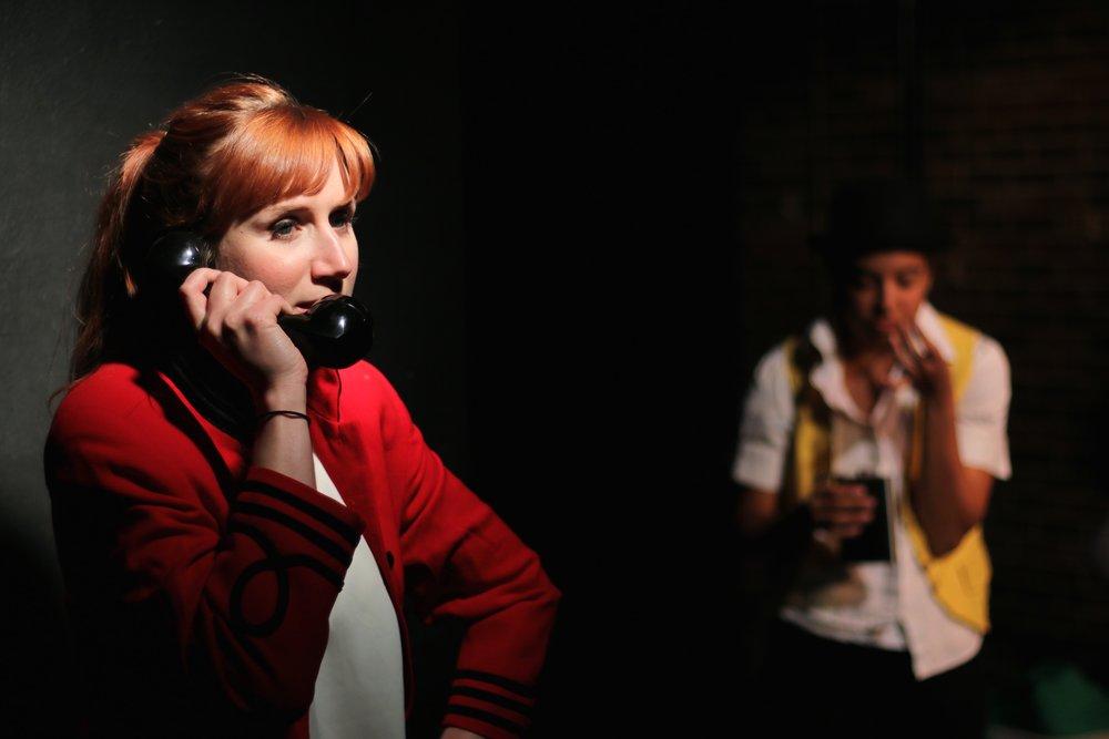 Brittany Stock (Chorus 3) and Sarah Jane Patin (Chorus 4). Photo by Cody Jolly.