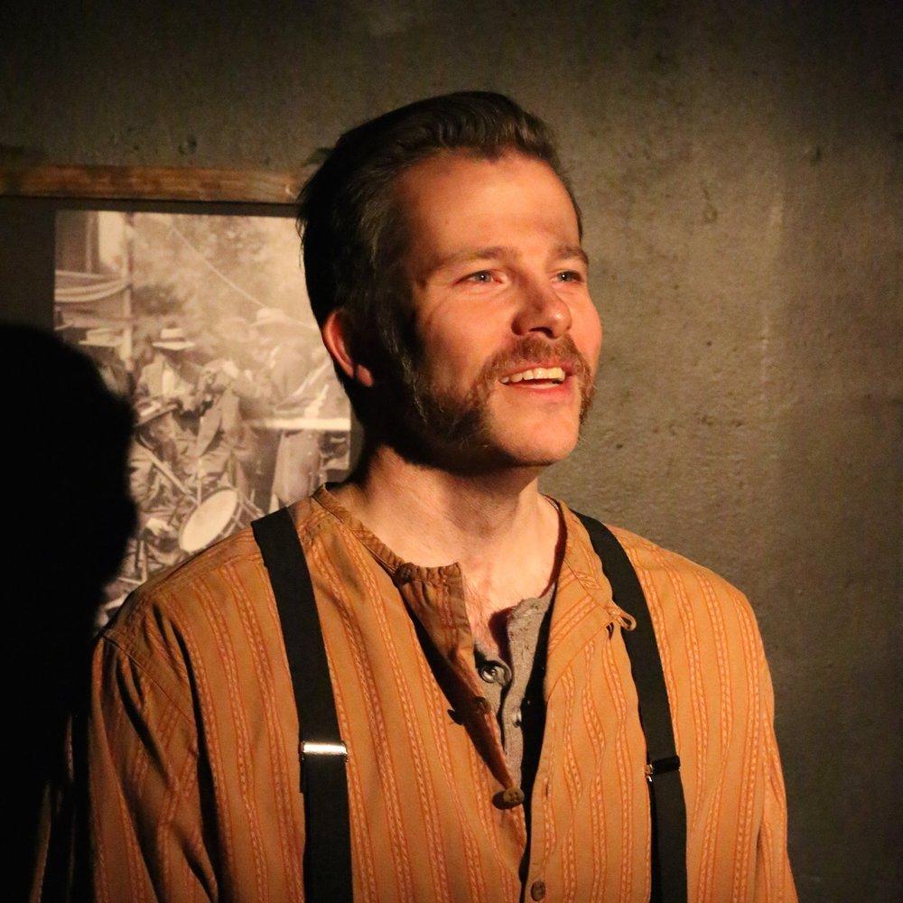 Eric Lindahl (Tom). Photo by Cody Jolly.