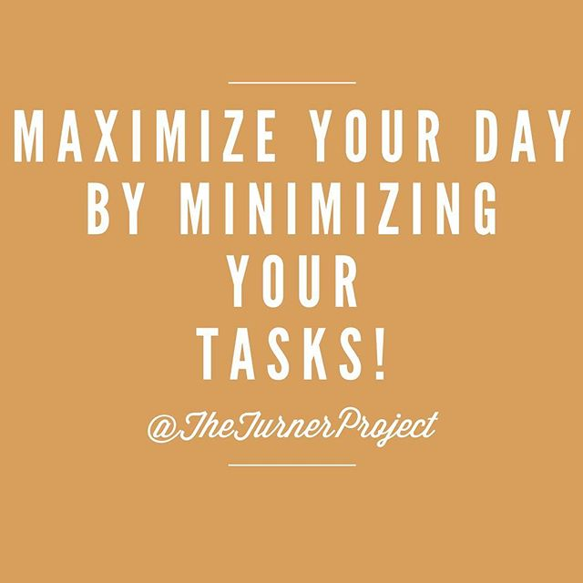 Start the week off right!! #productivity