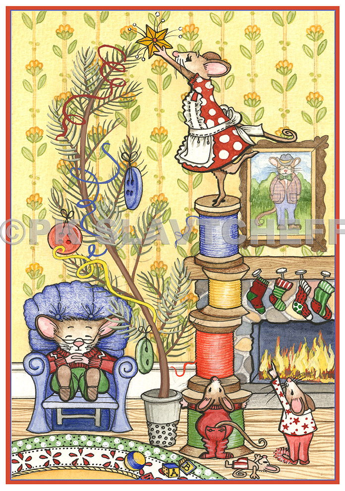 Patti King Slavtcheff_Christmas_Christmas Mice