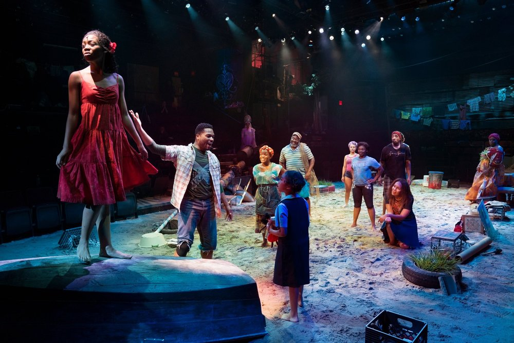 Once on this Island,  Circle in the Square Theater. Credit: Sara Krulwich/The New York Times.