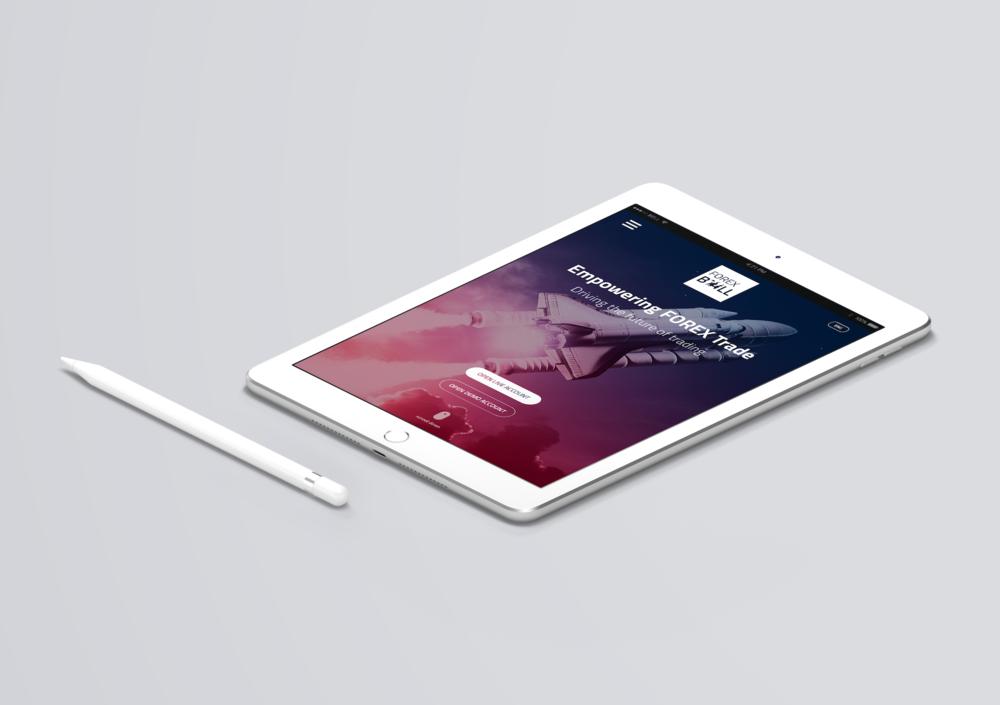 Tablet version - responsive design