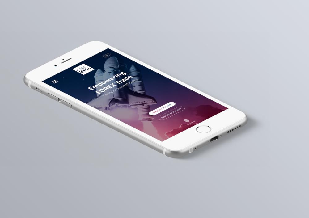 Smartphone version - responsive design