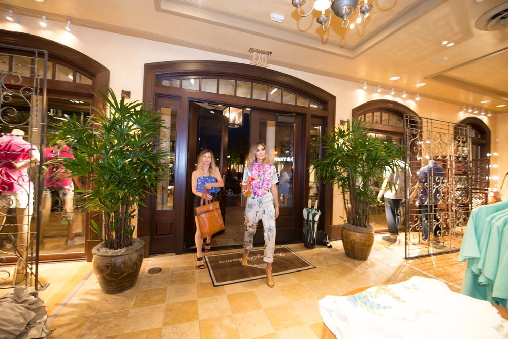 After our press photo we headed into Tommy Bahamas at Market Street for the after party!
