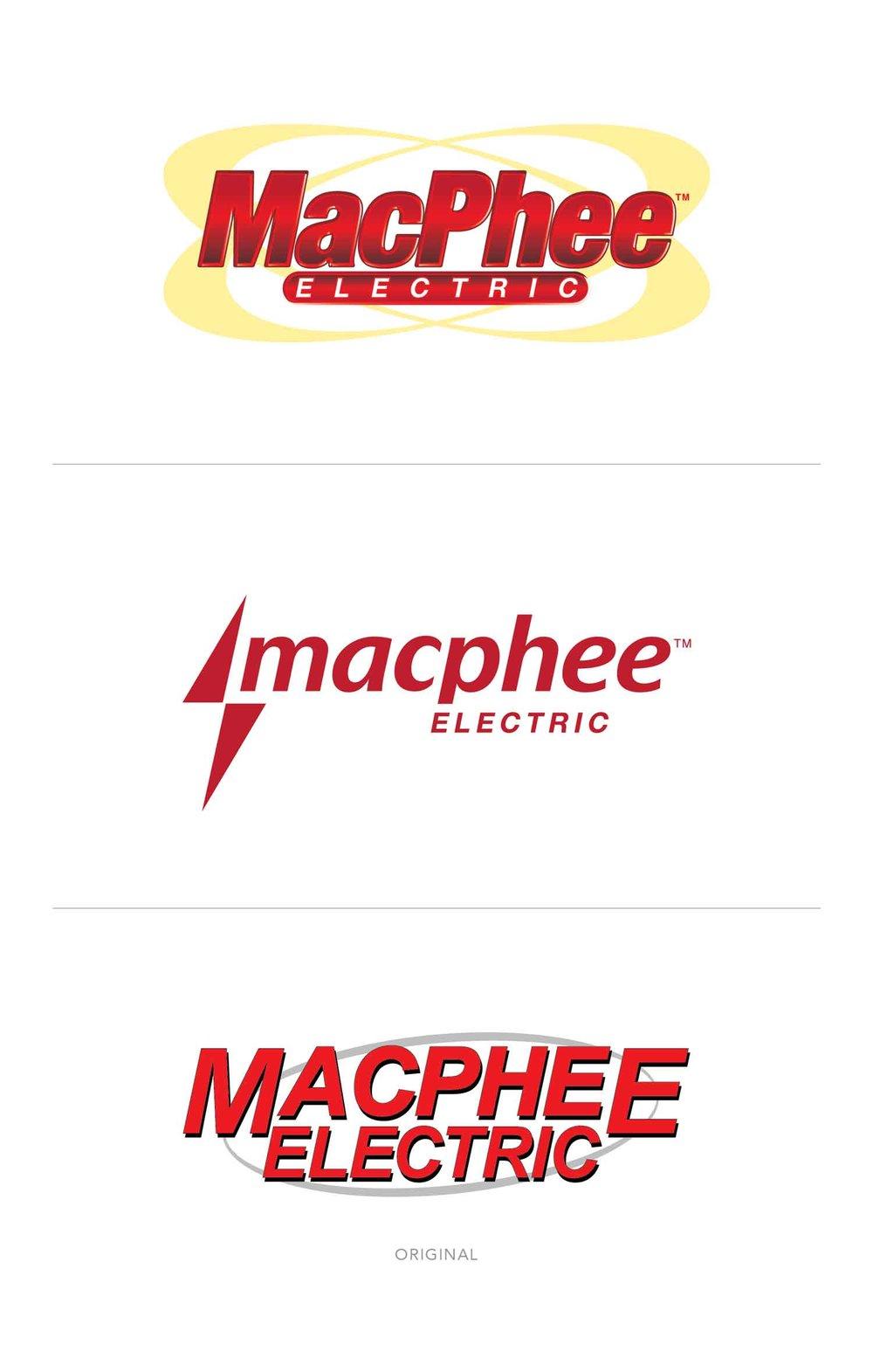 MacPhee Electric Rebrand