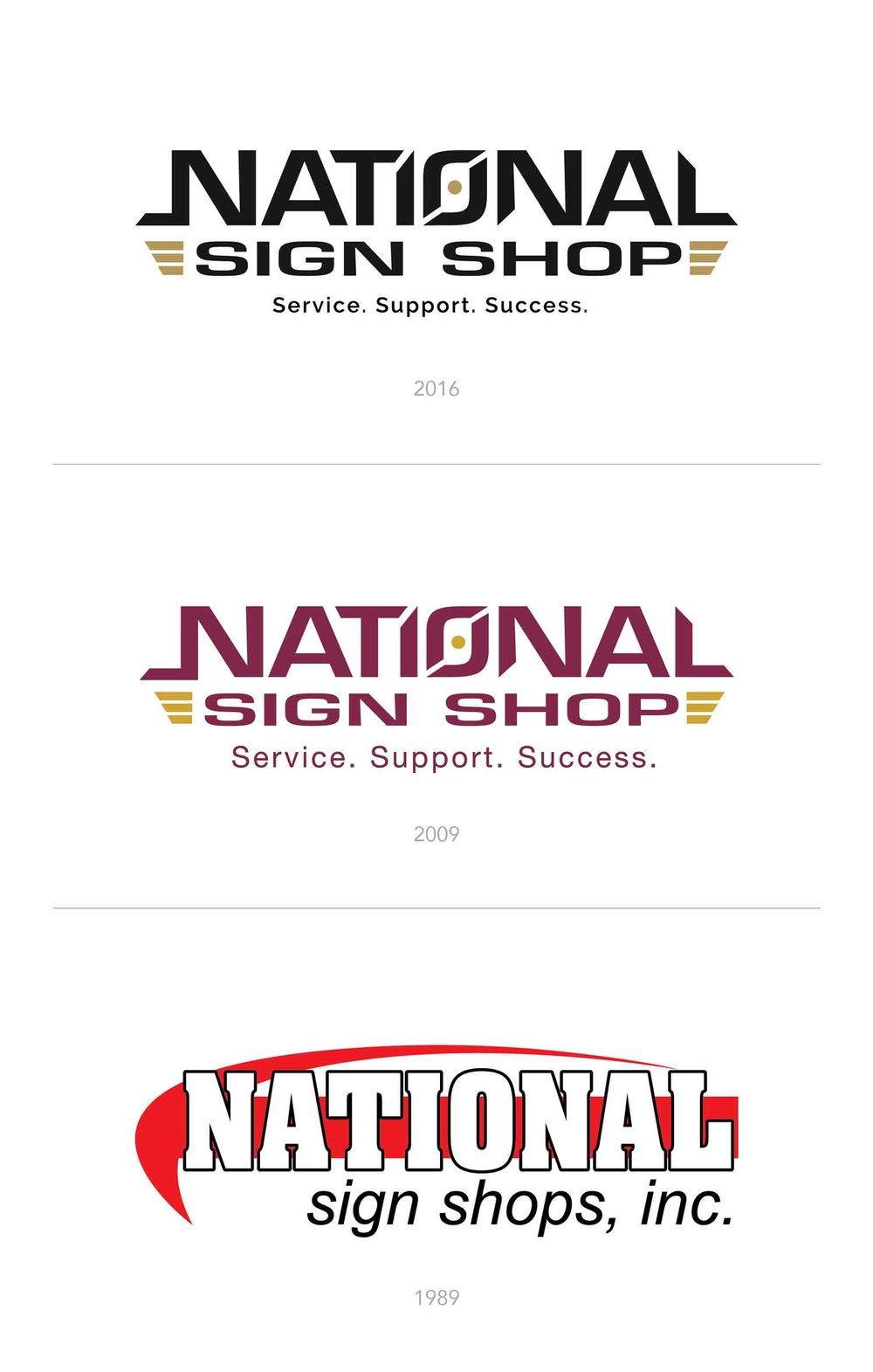 National Sign Shop Rebrand