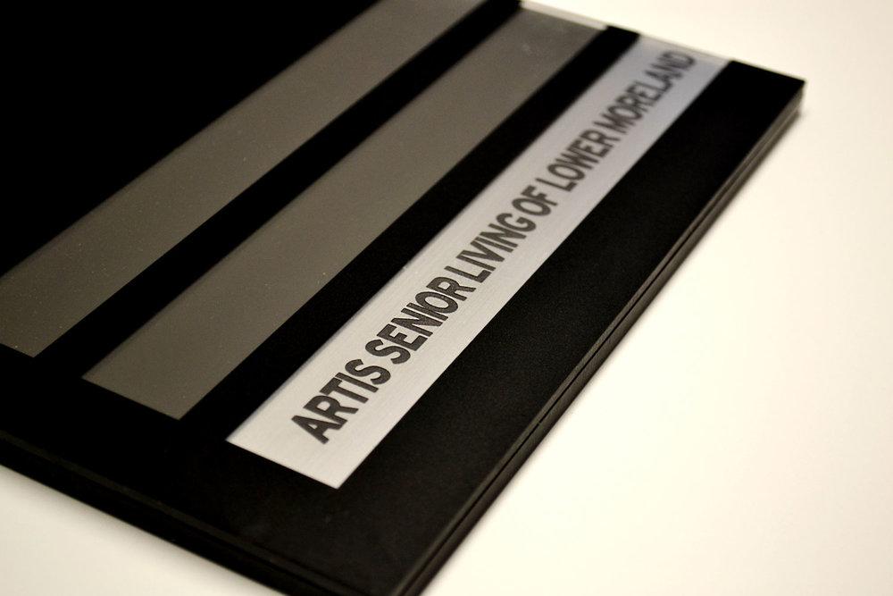 Engraved Suite Slat