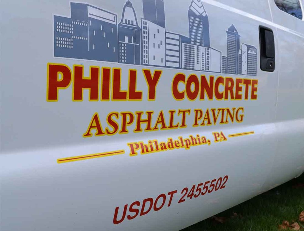 Contractor Vehicle Lettering