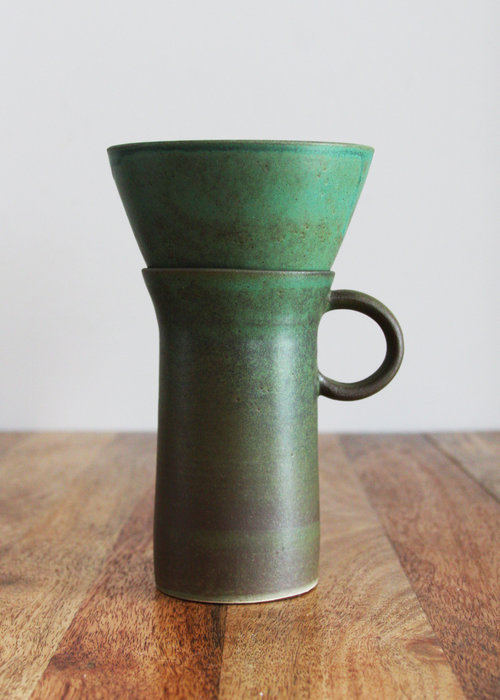 Kati Von Lehman pour over ceramic coffee