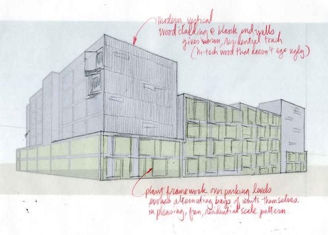 Fast, Low Cost Architectural Sketches Help Realtors And Prospective Buyers  Study Design Options Before Buying
