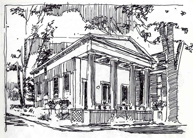 Architectural rendering technique the art of the pen and for Architecture technique