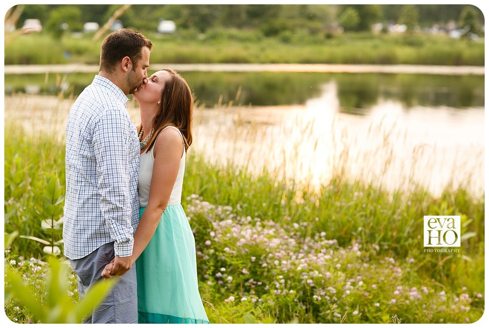 Hidden Lake Forest Preserve Engagement Session