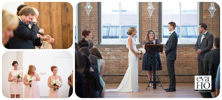 City View Loft Wedding Ceremony was filled with laughters and tears