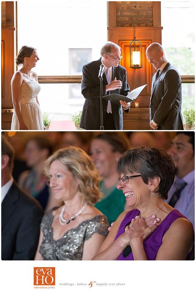 Revolution Brewing Wedding Ceremony Guests