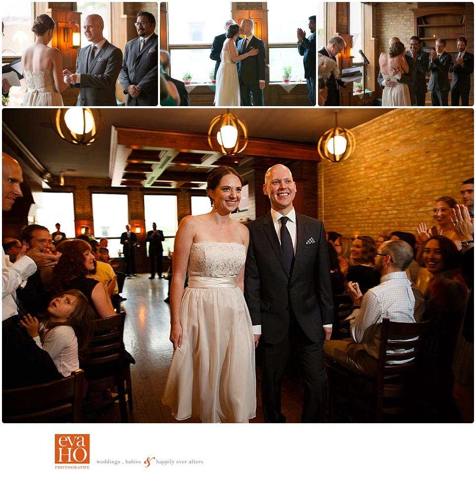 Revolution Brewing Wedding Ceremony Recessional