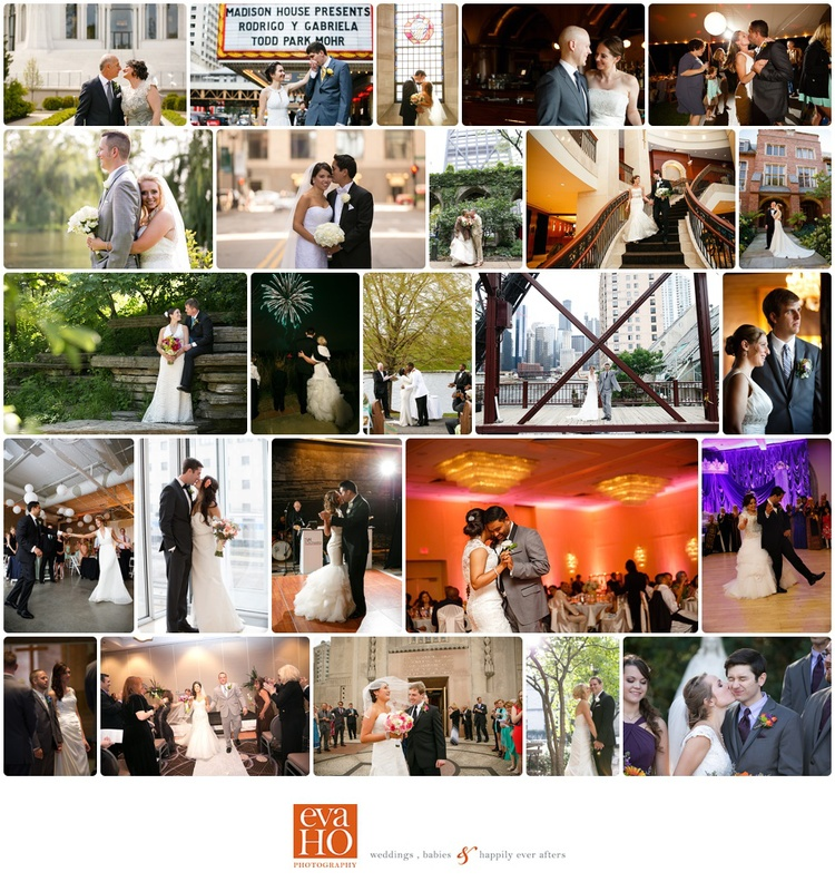 Chicago Wedding Photographer - Eva Ho Photography - Couples who were married in 2014