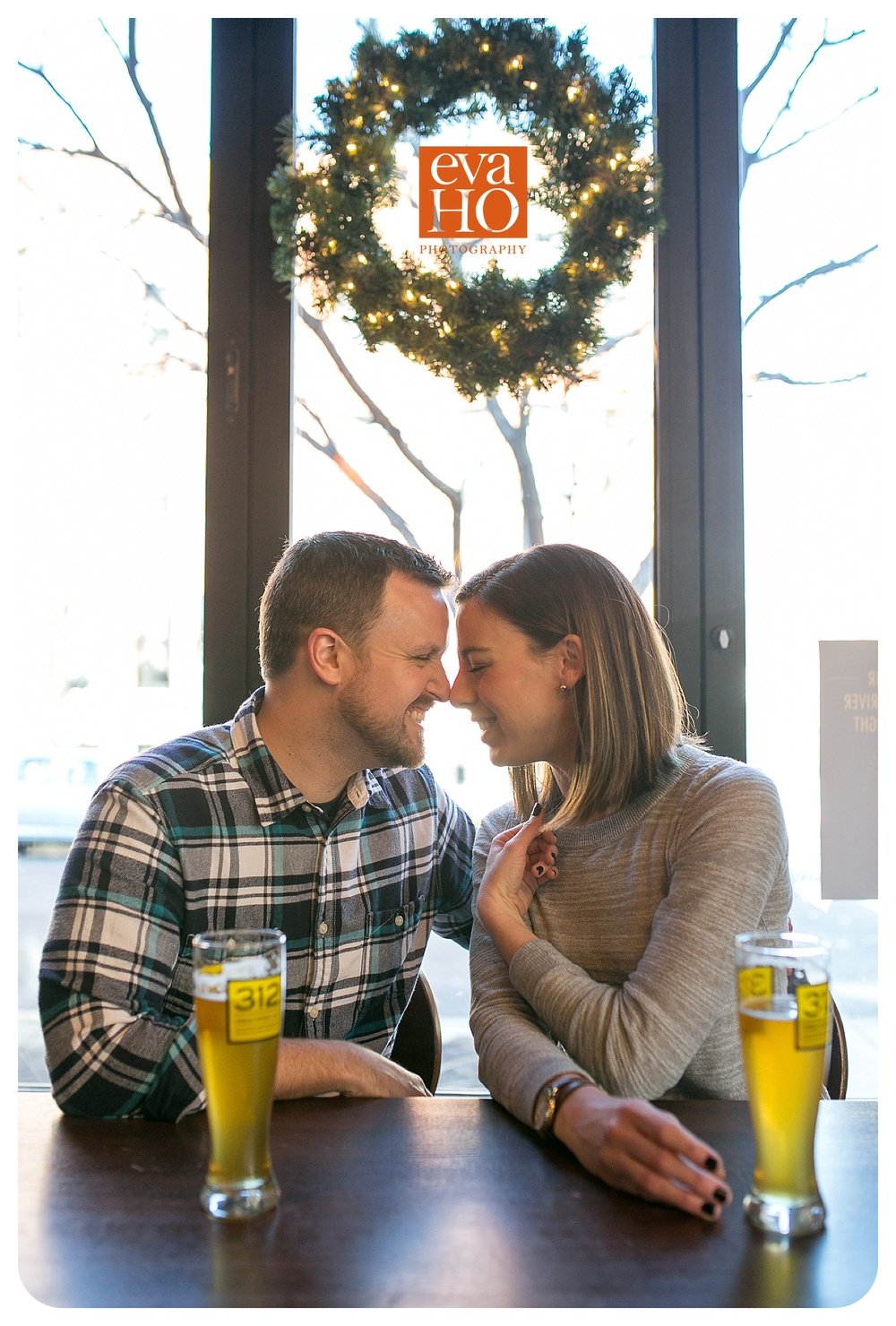 George Street Pub Engagement Session