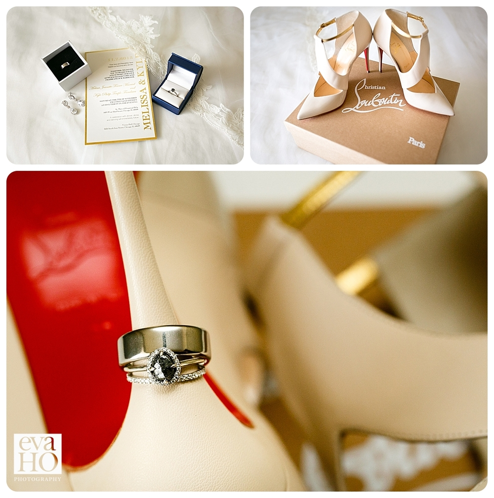 Wedding Day Details...her stone is gorgeous!