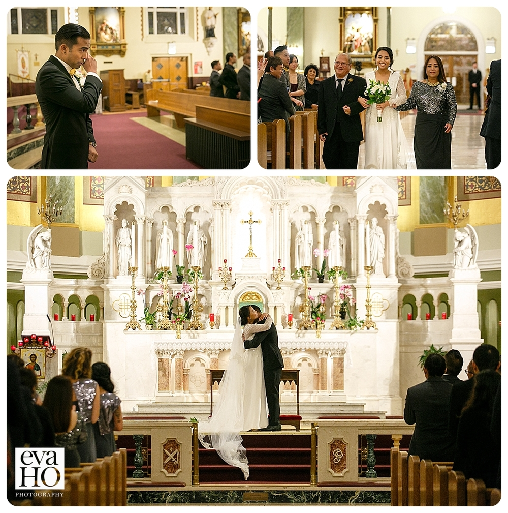 Ceremony at St. Mary of Perpetual Help Parish