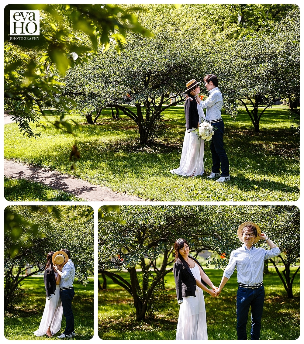 Olive Park was so gorgeous and green! We lucked out with the perfect day for an engagement session