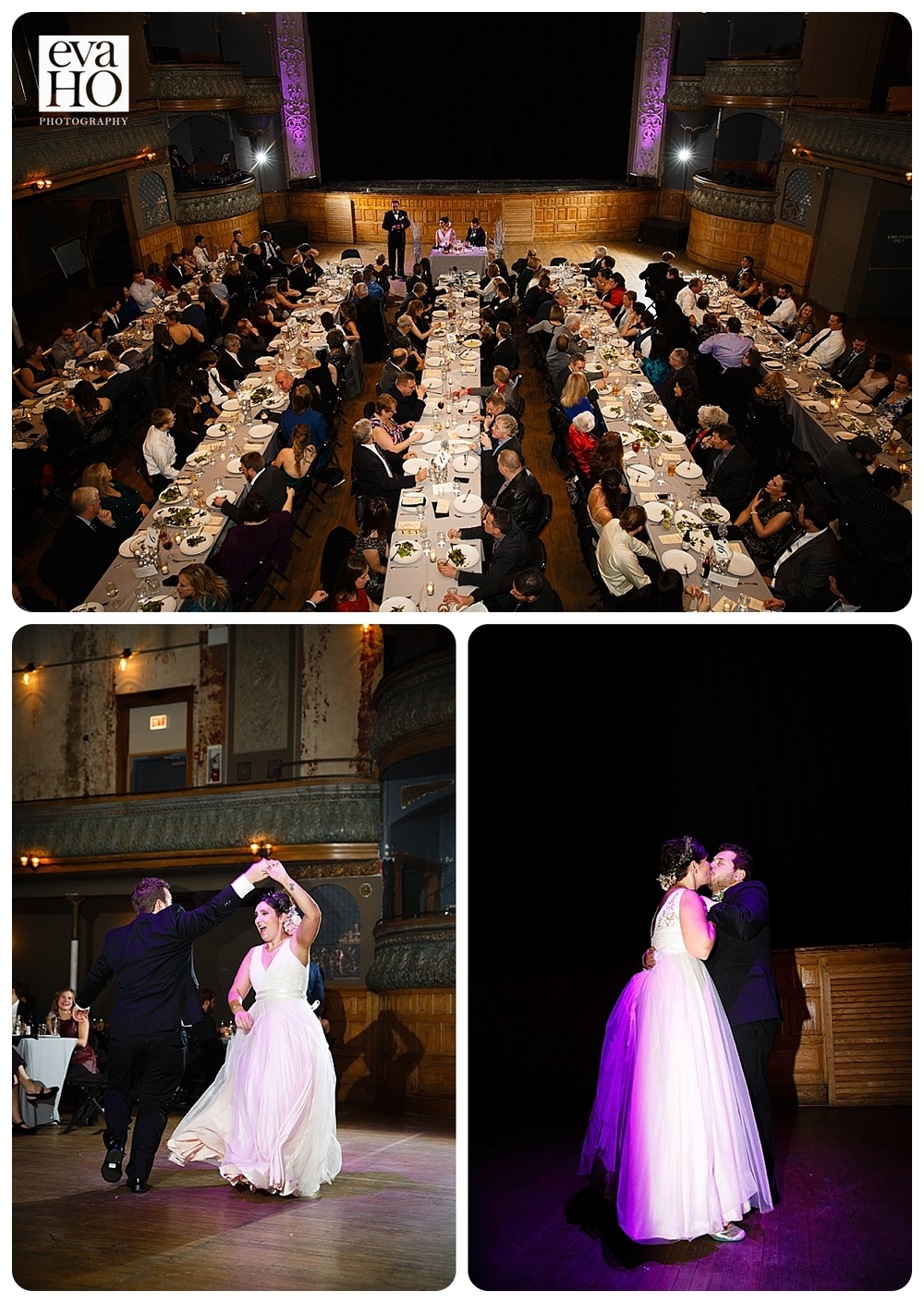 Dinner and First Dance at Thalia Hall