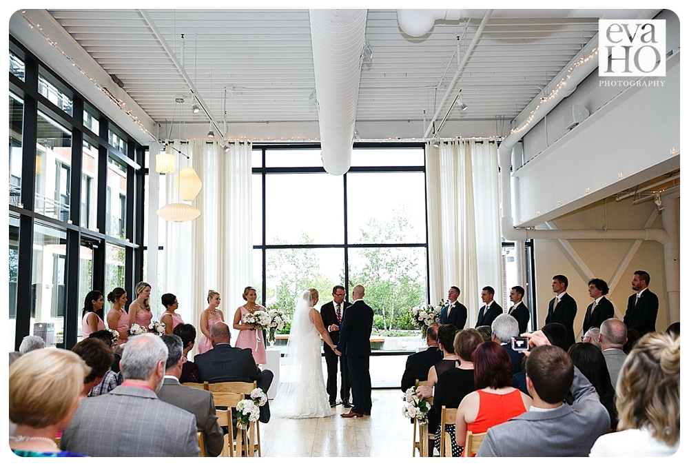 Greenhouse Loft Wedding Ceremony