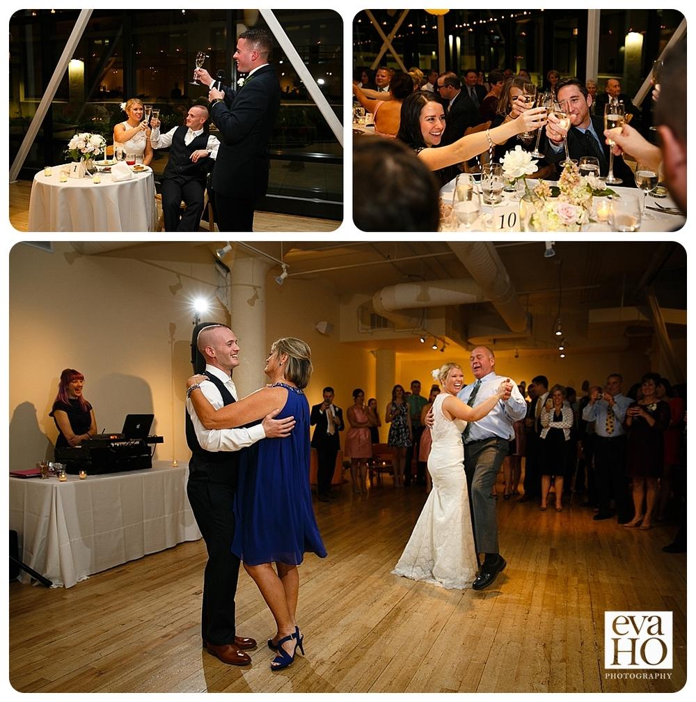 Greenhouse Loft wedding celebration