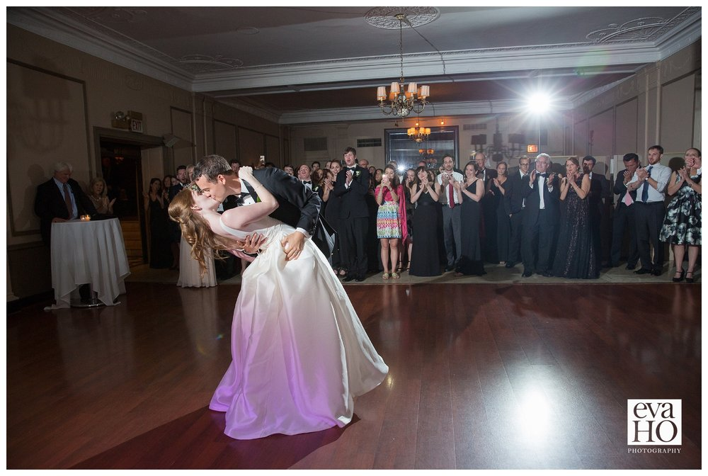 The First Dance at Salvatore's in Chicago