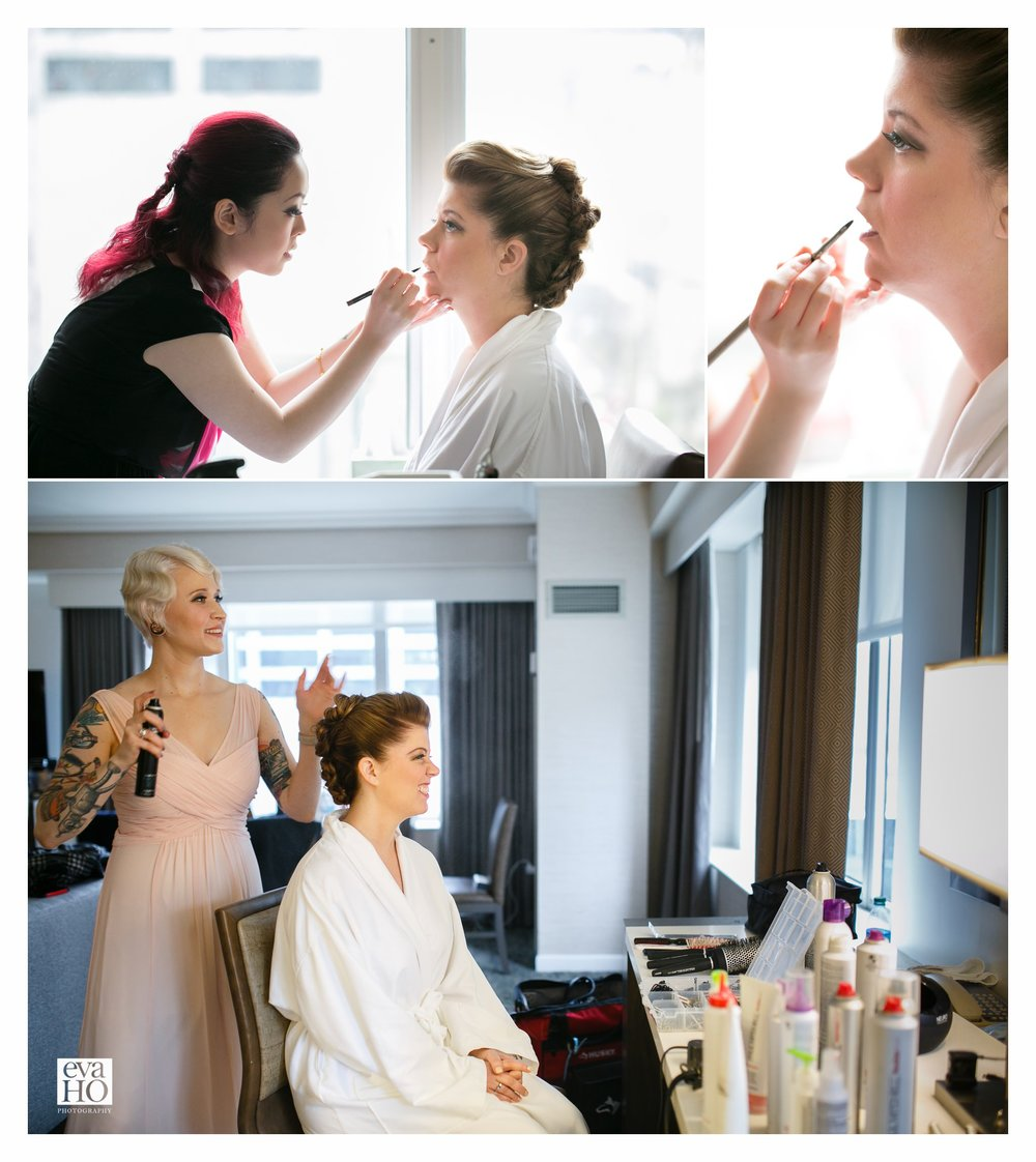 Westin Hotel Wedding Day Prep