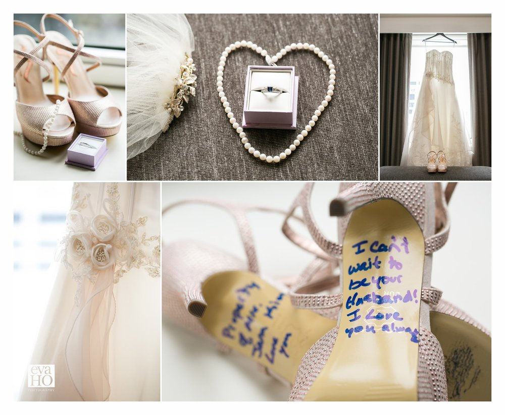 Westin Hotel Wedding Details