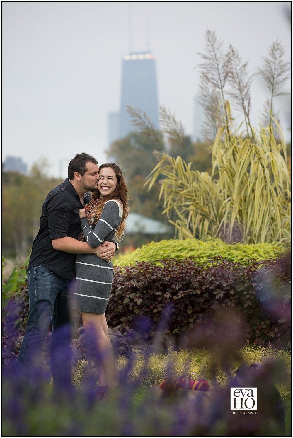 Alison and Jim's engagement session in Lincoln Park.