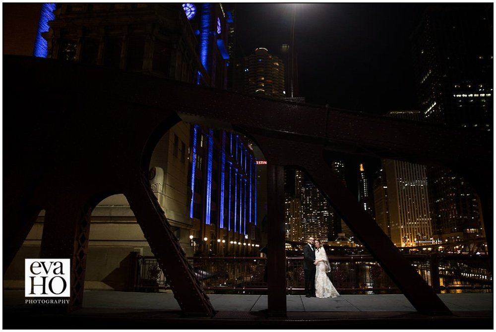 In between the ceremony and the reception we were able to sneak outside for some quick pictures in the city!