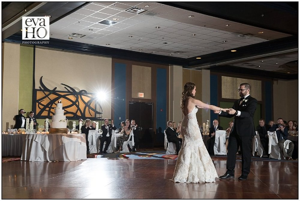 The first dance is always such a special part of the reception. The look the groom gave his new wife was so sweet and tender!