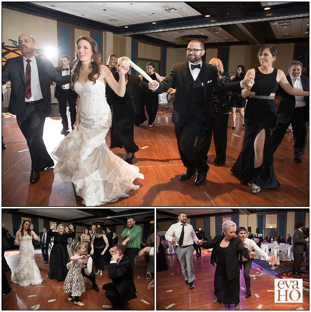 A Greek weddings means lots of Greek dancing!! The energy in the room was contagious! All guests, both young and old, found their way to the dance floor at some point during the night!