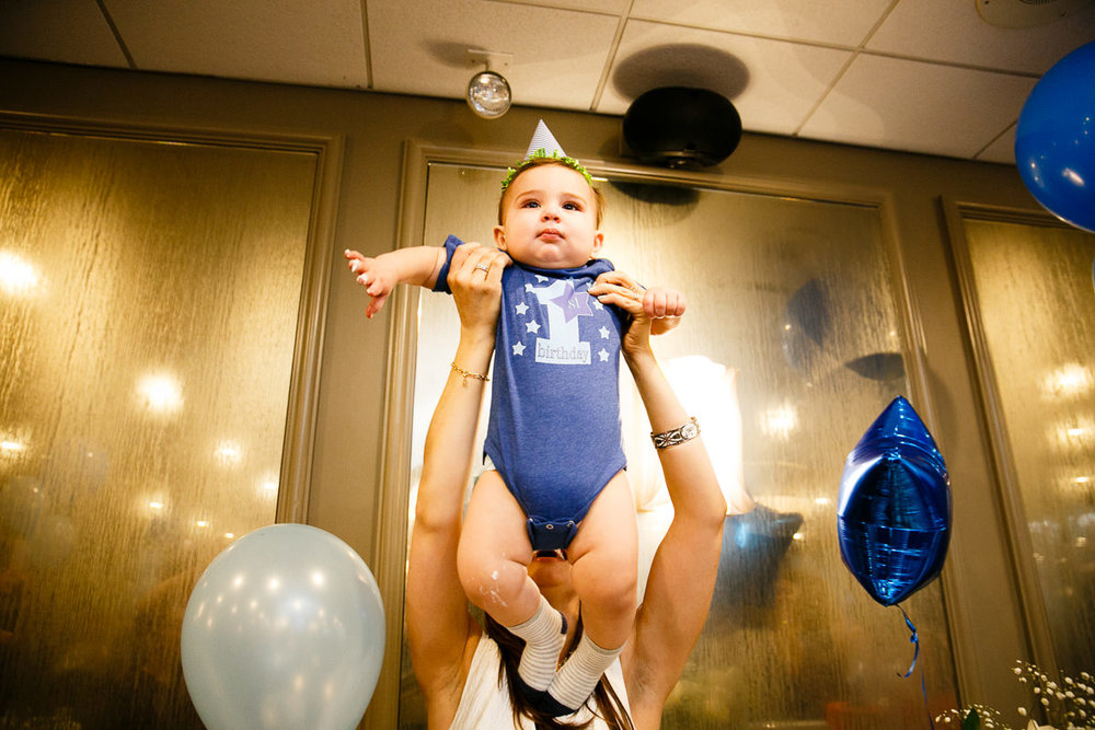 Boy 1st Birthday Party at East Bank Club of Chicago.