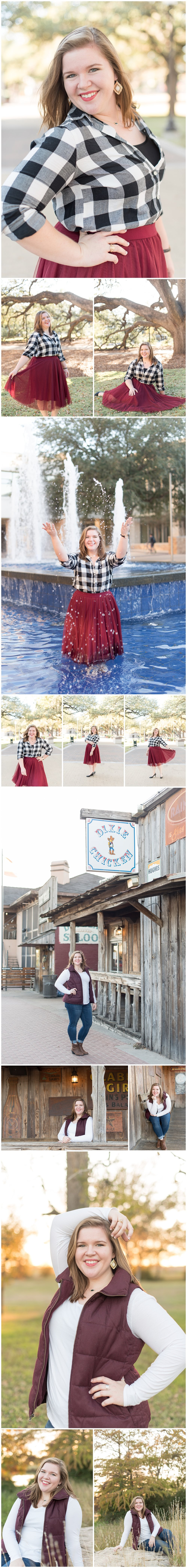 Texas A&M University Senior Session | College Station, TX | Katelyn Todd Photography