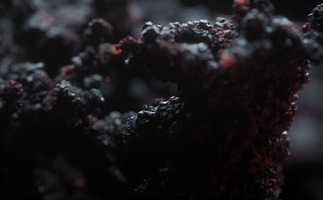 [ Us By Night ] titles capture ~ . . . . . . . #usbynight #titles #title #opening #openingtitles #cinematic #film #movies #night #us #simonholmedal #motiongraphics #vfx #minerals #mineral #folding #sidefx #houdini #octane #fusion #cinema4d
