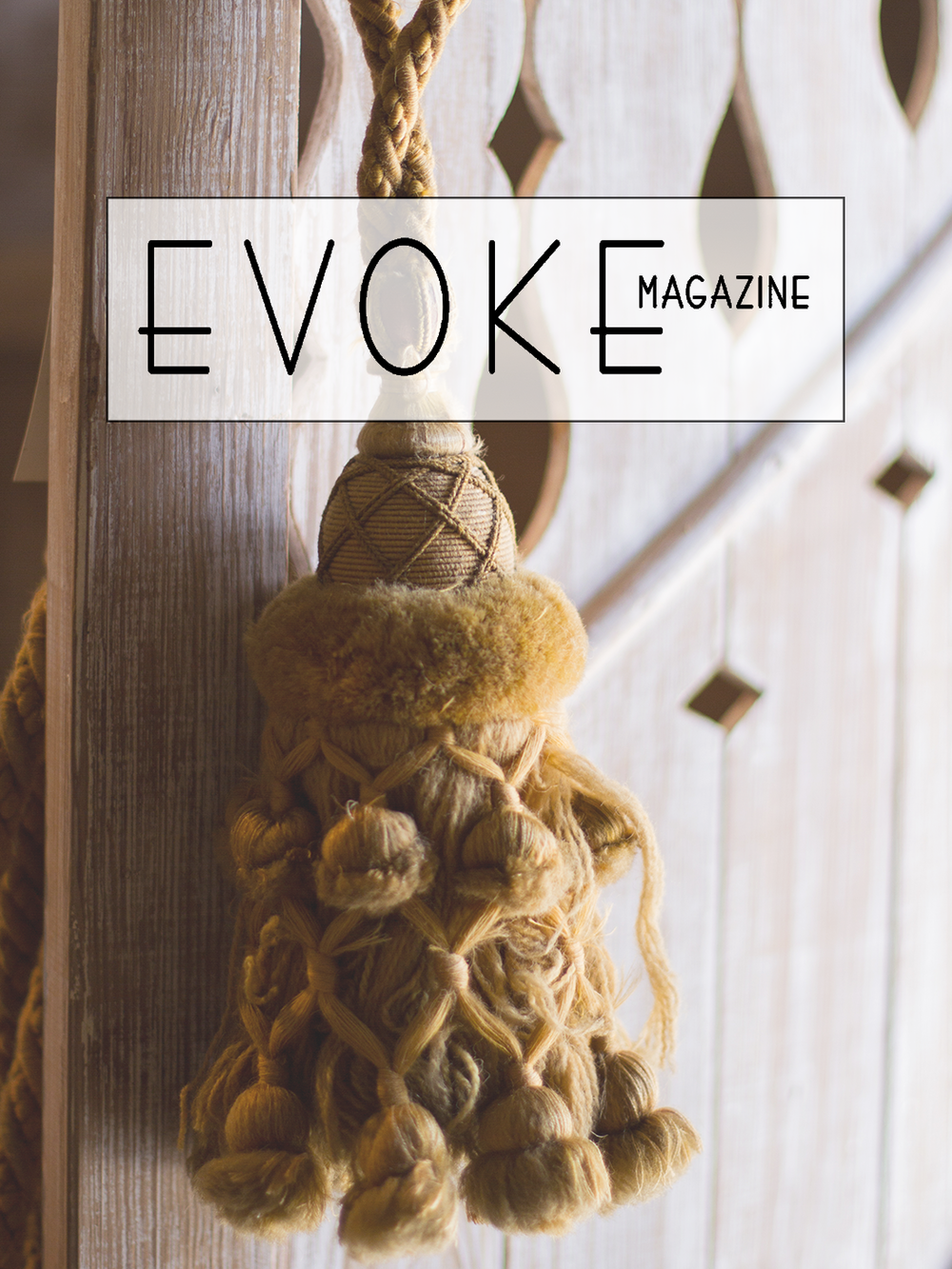 Sarah Anderson of Chateau Sonoma in Evoke Magazine