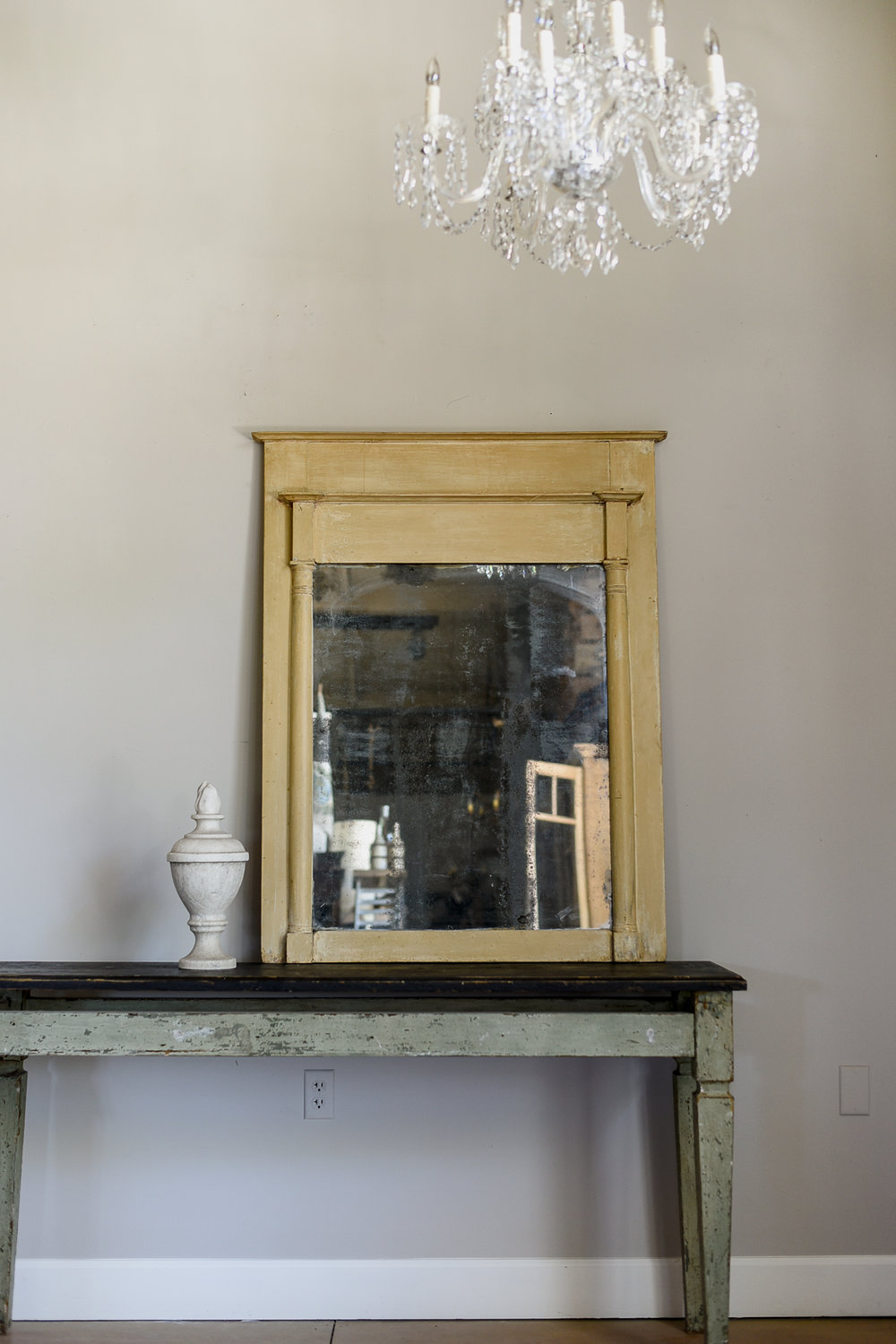 19th C Directoire Mirror