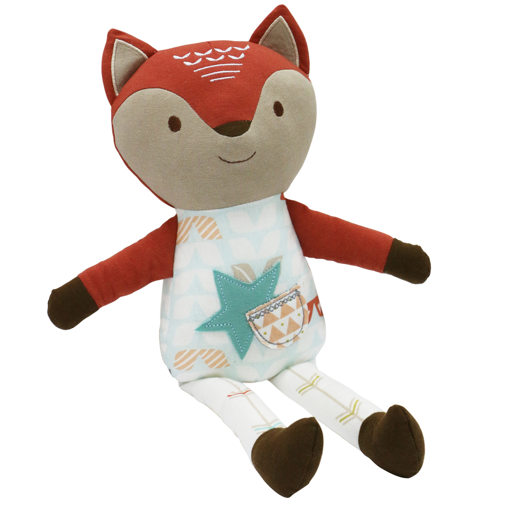 Clever Fox Plush by Little Haven