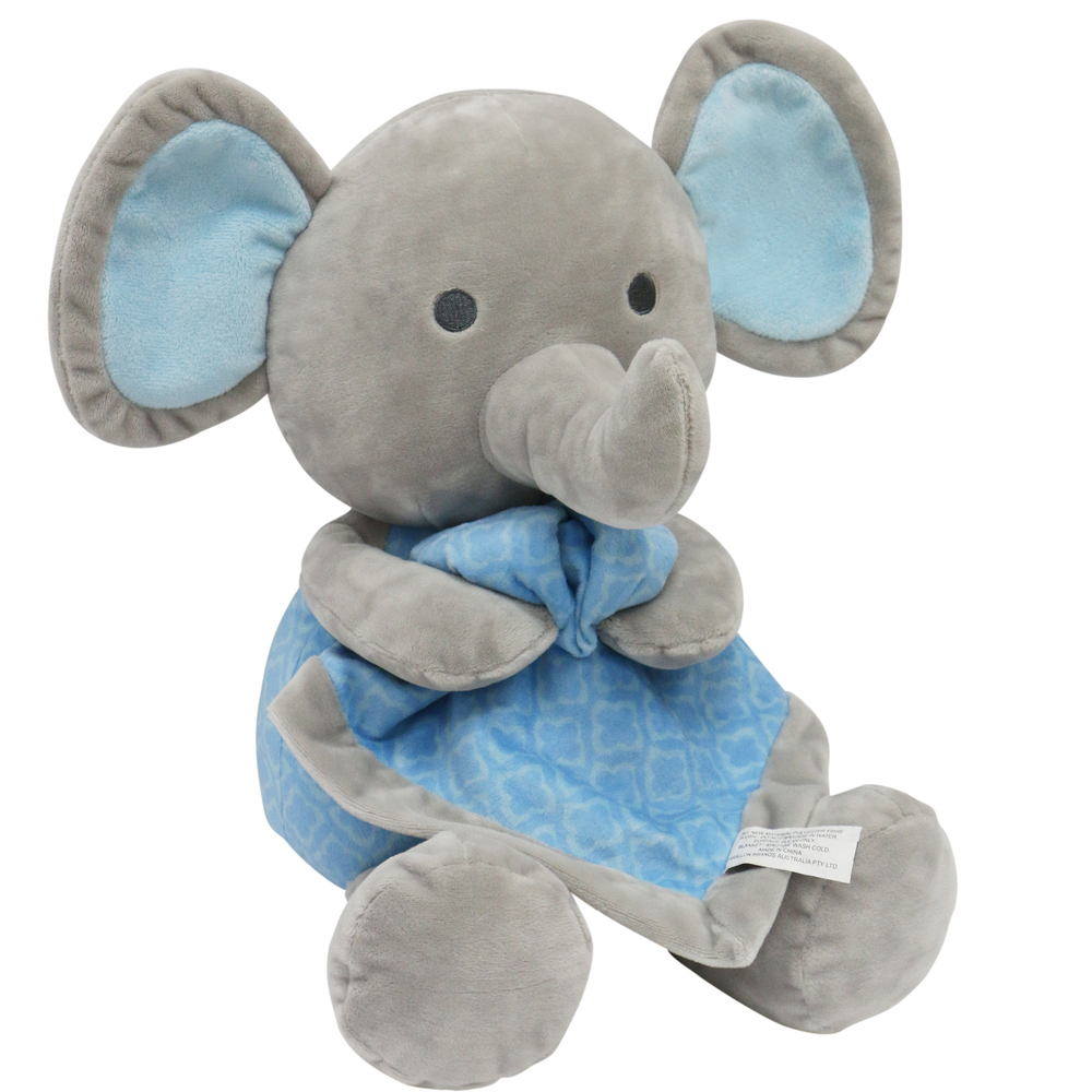 Little Haven Blue Elephant Plush & Blanket.jpg
