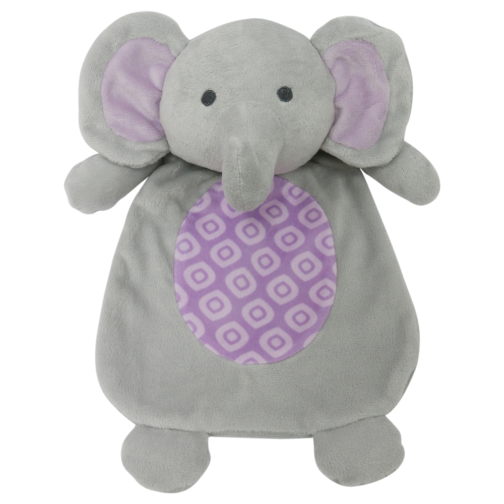 Little Haven Purple Elephant Flat Plush.jpg