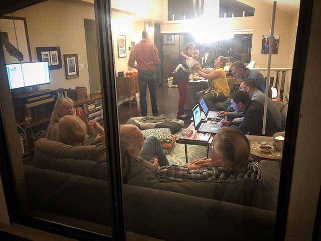 A scene of support and love from last night. (snapped this on my way back in from taking doggo out for a potty break). While we didn't make it through the primary, we did run an amazing campaign. With no name recognition to start, no ties to Sacramento, and being outspent 10:1 by other candidates, we knew it would be an uphill battle. I am so proud of Ted for putting himself out there and committing to see through such a hard endeavor. I am so grateful to the people who have supported him/us through this all. I have learned so much about myself and the world in this process and I can see that the same has happened for Ted. This is just the beginning!