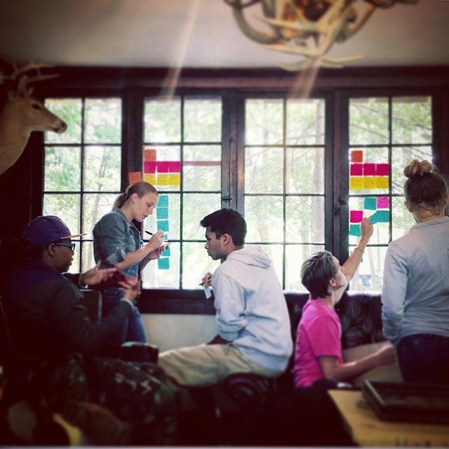 Early morning @campwandawega Summer 2015... . . . #tbt #design #designthinking #hcd #humancentereddesign #innovate #impact #portfolio