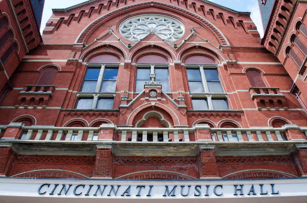 Cincinnati music hall revitalization