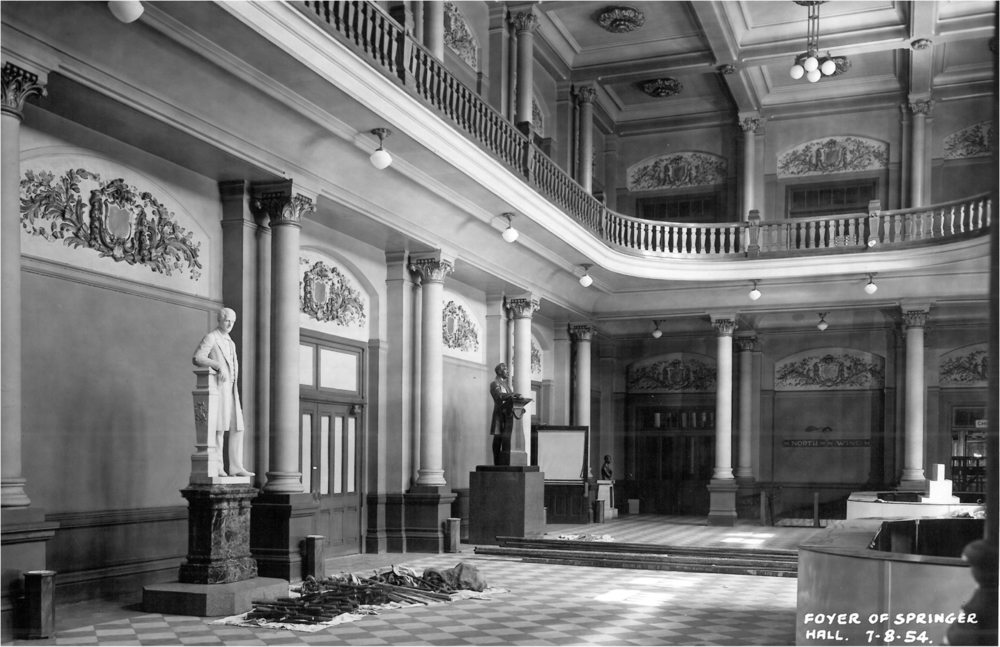 The Grand Foyer in 1954