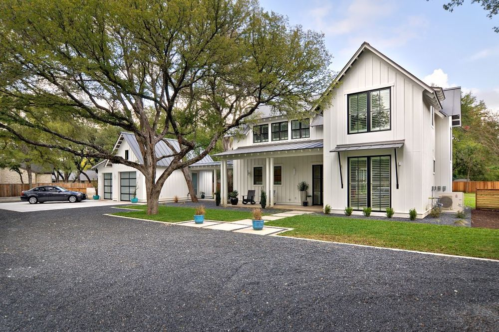 Modern farmhouse tim brown architecture