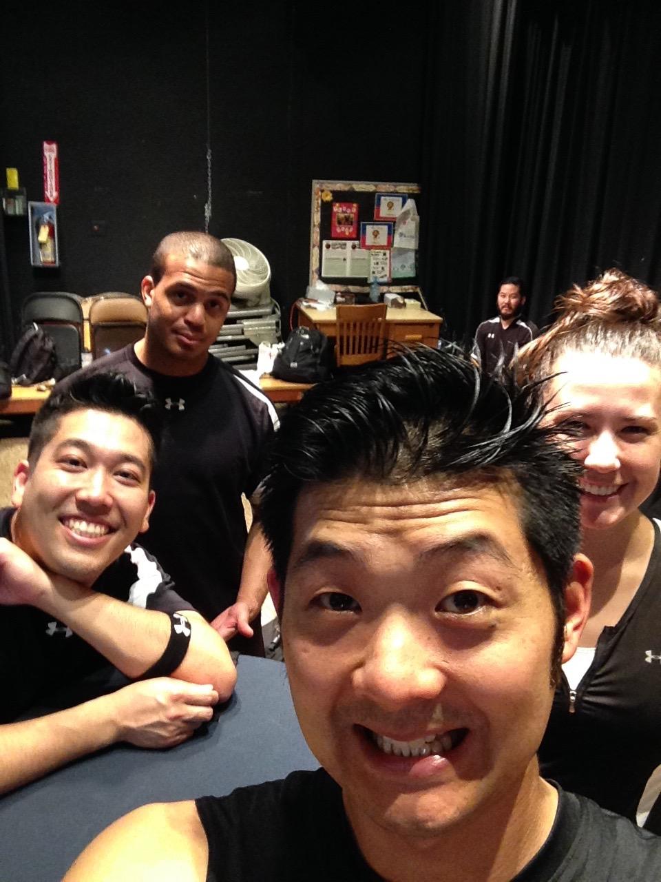 Sweaty Selfie! Otsukaresama deshita!
